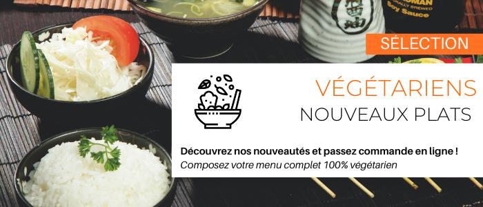 Plats végétariens japonais